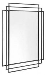 Nordal Spejl SQUARE 97x76 cm - Sort