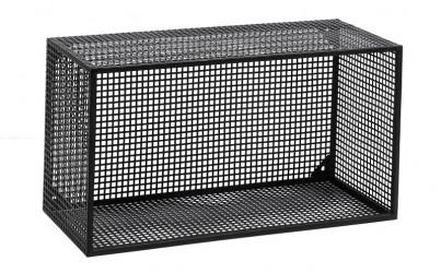 Nordal - Wire Bogkasse 60x32 cm - Sort