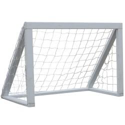 Nordic Play fodboldmål - Grundmalet fyrretræ - Hvid