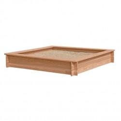 Nordic Play - Sandkasse i lærketræ 150 x 150 cm
