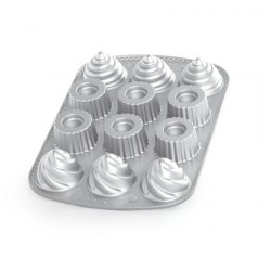 Nordic Ware Kageform Fyldt Cupcake