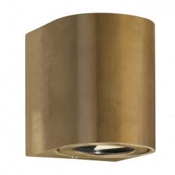 Nordlux Canto 2 LED Væglampe-Messing (Mørk)