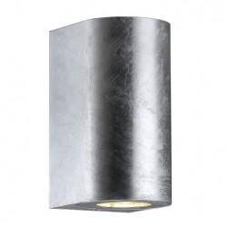 Nordlux Canto Maxi 2 Udendørs Væglampe - Galvaniseret