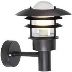 Nordlux Lønstrup 22 Udendørs Væglampe - Sort
