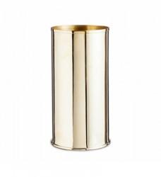 Nordstjerne Vase Messing Ø 8 x H 17 cm