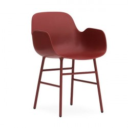 Normann Copenhagen 4 stk. armchair i rød