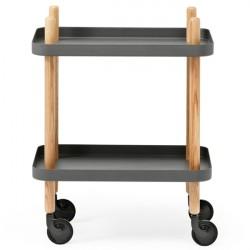 Normann Copenhagen Block rullebord - mørkegrå