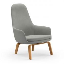 Normann Copenhagen Era Lounge stol - høj/eg - Fame Hybrid 1101