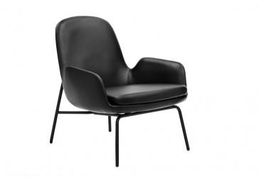 Normann Copenhagen Era Lounge stol - lav/stål - Ultra 41599