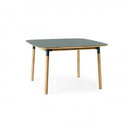 Normann Copenhagen - Form spisebord 120x120 cm - Grøn