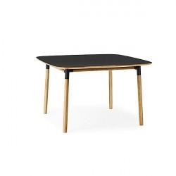 Normann Copenhagen - Form spisebord 120x120 cm - Sort