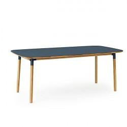 Normann Copenhagen - Form spisebord 95x200 cm - Blå