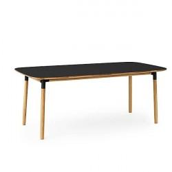 Normann Copenhagen - Form spisebord 95x200 cm - Sort