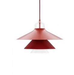 Normann Copenhagen Lampe Rød L