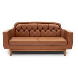 Normann Copenhagen leather sofa 2-personers