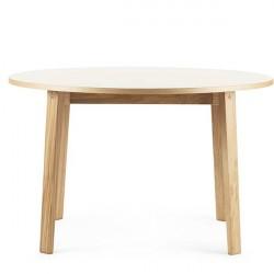 Normann Copenhagen - Slice spisebord Ø120 cm - Linoleum