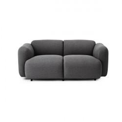 Normann Copenhagen Swell sofa 2 seater - breeze fusion