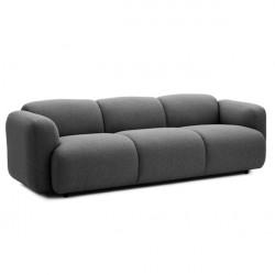 Normann Copenhagen Swell sofa 3 seater - breeze fusion