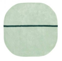 Normann Copenhagen Tæppe Mint 140x140 cm