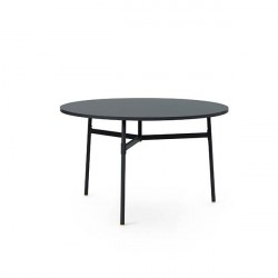 Normann Copenhagen - Union spisebord Ø120 cm - Sort