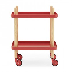 Normann Cph Block Table Red