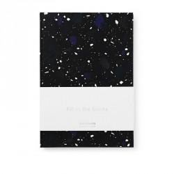 Normann Cph Notesbog Space Stone Dark