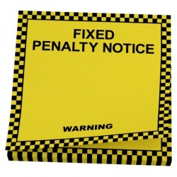 Notespapir (fixed penalty notice)