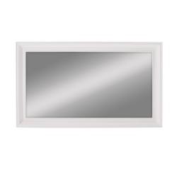 NOVASOLO Halifax spejl - hvid maghoni og spejlglas