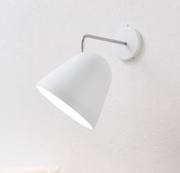 Nyta Tilt væglampe - Hvid