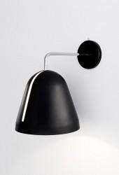 Nyta Tilt væglampe - Sort