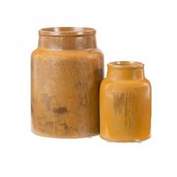 Oi Soi Oi Ceramic Jar Mustard