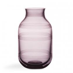 Omaggio glas vase (blomme/h14 cm)