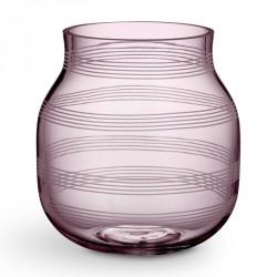 Omaggio glas vase (blomme/lille)