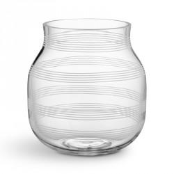 Omaggio glas vase (klar/lille)