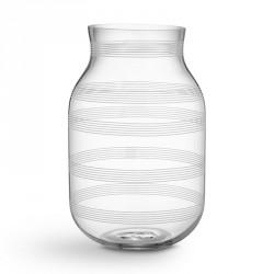 Omaggio glas vase (klar/stor)