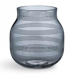Omaggio glas vase (stÅlblÅ/lille)