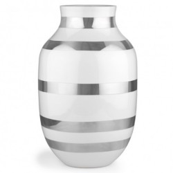 Omaggio vase (sØlv/stor)