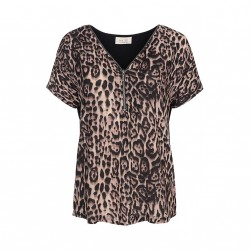 One two blouse black