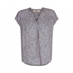 One two blouse indigo
