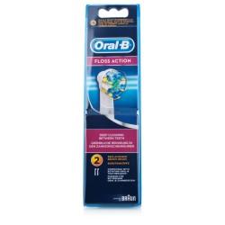Oral-B Floss Action Tandbørstehoved 3 stk.