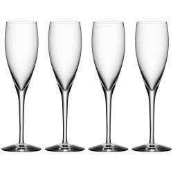 Orrefors champagneglas - More - 4 stk.