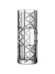 Orrefors Explicit Checks Vase 30 cm