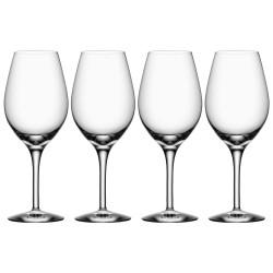 Orrefors rødvinsglas - More - 4 stk.