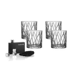 Orrefors whiskeyglas - City Double Old Fashion - 4 stk.