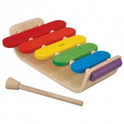 Oval xylofon