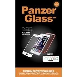PanzerGlass premium iPhone 6/6s - hvid/rosa