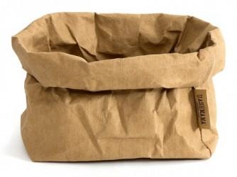 Papirspose (stor/brun)