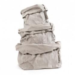 Papirspose (stor/grÅ)