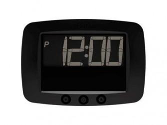 Park Deluxe Digital 5011 Elektronisk P-skive - Batteridrevet - Automatisk vinter/sommertid - Sort