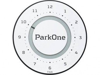 ParkOne 2 P-skive Alphine White